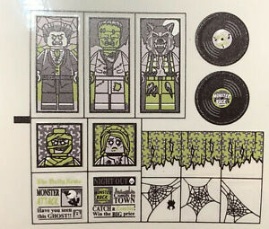 Custom Replacement Stickers for Haunted House 10228