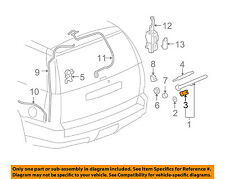GM OEM Rear Window Wiper-Window Wiper Arm Cap 15798935