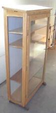1 türig schrank vitrine schaukasten alt tante emma laden 3 seitig top deko pult