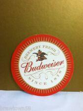 Anheuser-Busch brewery Budweiser beer coaster bar coasters brewery fresh 1876 P2
