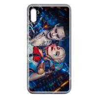 For Galaxy A10e Case Cover Joker Harley Quinn Neon Blue