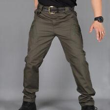 Durable Soldier Tactical Waterproof Long Men Cargo Pants Combat Hiking Outdoor