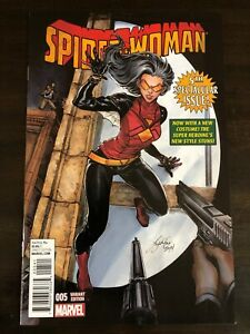 SPIDER-WOMAN #5 1:50 OUM VARIANT MARVEL COMICS NM