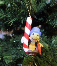 GROLIER DISNEY PINOCCHIO'S JIMINEY CRICKET HOLIDAY CHRISTMAS ORNAMENT