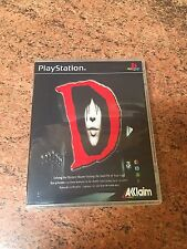 D Empty Custom Replacement 3Disc Case (Sony PlayStation 1, 1996) PS1 PS2 PS3
