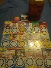 VINTAGE VIEWMASTER LOT-PROJECTIR NOT INCLUDED-PLEASE READ-46 REEL PACKS-RARE