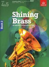SHINING BRASS Book 2 + CDs Grades 4-5 ABRSM*