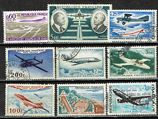 France Aviation Planes Timbres Lot