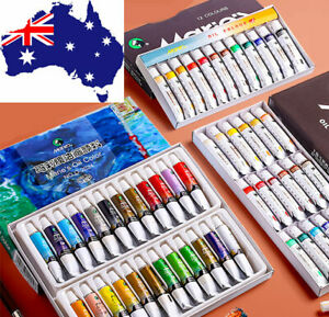 Marie's Oil Paint Set 12ml*12/18/24 colors Tubes Artist Painting Birthday Gift