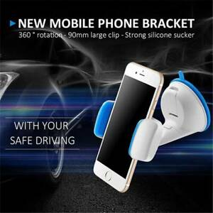 360° Universal Car Holder Stand Mount Windshield Bracket For Mobile Cell Phone