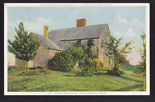 c1920-30 John Alden House Duxbury Massachusetts postcard