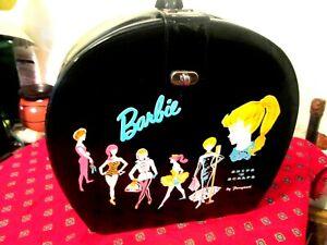 Vintage 1996 Barbie Snips & Scraps By Ponytail  Vinyl Doll Carrying Case + Comb!
