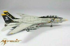JSI 1 18 US Navy F-14A Tomcat VF-84 Jolly Rogers NEW IN OPENED BOX