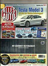 ALLES AUTO 9 / 2017 / TESLA Model 3, VW Aerton, RANGE ROVER Velar, E-Klasse Cab