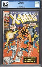 UNCANNY X-MEN #69 (1971) CGC 8.5 VF+ / Marvel Comics / The Mimic!