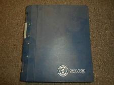 1990 1995- Saab 9000 Electrical System Audio Fault Tracing Service Repair Manual