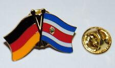 FREUNDSCHAFTSPIN PIN 0049 ANSTECKER DEUTSCHLAND / COSTA RICA FAHNE  METALL PINS