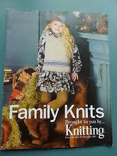 Famille Knits, Noël 2011-Fantaisie beret, sac, chaussettes, Fraise bootees & plus
