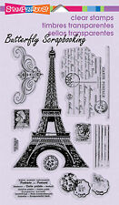 Eiffel Tower Post Perfectly Clear Unmounted Stamps Set Stampendous SSC1121 NEW