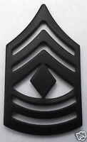 US ARMY E8 1ST SGT (SUBDUED) Military Veteran Rank Pin P12756 EE