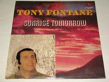 TONY FONTANE - SUNRISE TOMORROW - RARE STILL SEALED LP ! ! !