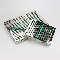 NEW Dental Surgical 10 & 20 Instruments Sterilization Cassette Tray Racks