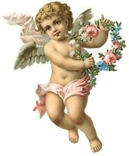 XL DarLinG VinTaGe IMaGe CheRuBs ShaBby DeCALs *FuRNiTuRe SiZe*