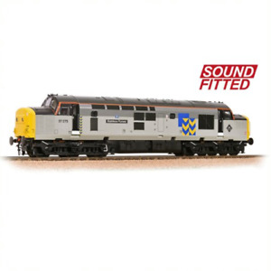 Bachmann 32-778RJSF Class 37 Stainless Pioneer BR Railfreight Metals DCC Sound