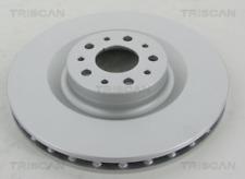 2x Bremsscheibe TRISCAN 812015144C vorne für FIAT OPEL