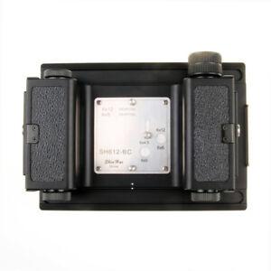 Shen Hao 6x4.5 6x6 6x9 6x12 Roll Film Back Magazine For Linhof Wista 4x5 Camera