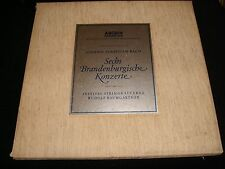 BACH°6 BRANDENBURG CONCERTOS<>BAUMGARTNER<>2 LP Vinyl ~Germany  Pressing<>198142