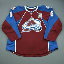 2011-12 Erik Johnson Colorado Avalanche Game Used Worn Hockey Jersey! MeiGray