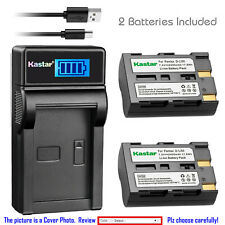 Kastar D-Li50 Battery Charger for Pentax K10D K10 K20 K20D K10 K10D K10D GP