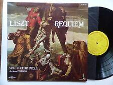 LISZT Requiem soli choeur orgue dir FERENCSIK 1267