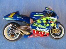 WELL BUILT SUZUKI TELEFONICA MOVISTAR   RACING BIKE   HELLER   1/24 kit