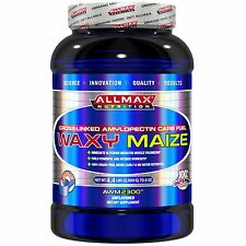 ALLMAX NUTRITION WAXY MAIZE CROSS LINKED AMYLOPECTIN CARB FUEL VEGAN POWDER