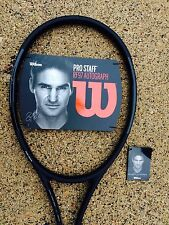 NEW 2017 Wilson Pro Staff RF97 Autograph Tennis Racquet 4 1/2 free shipping