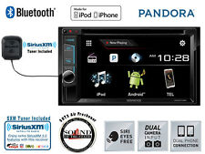 "Kenwood DDX393 6.2"" CD DVD Receiver w/ Built in Bluetooth & SiriusXM SXV300v1"