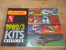 MATCHBOX AMT 1982 / 1983 KITS CATALOGUE 76 PAGES IN COLOUR GOOD CONDITION MODEL