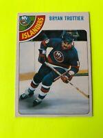 Bryan Trottier O-Pee-Chee NHL Hockey Card #10 1978-79