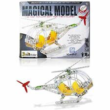 3 Bees & Me Stem Helicopter Building Toy Kit - Model For Boys Girls Age 8 To