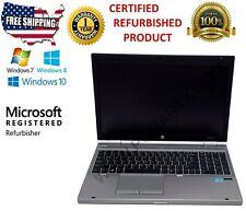 HP ELITEBOOK-8570P I5-3340M 2.7GHZ 4GB RAM 500GB HD WIN 10 PRO
