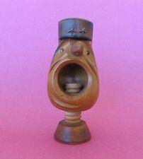 NUTCRACKER VINTAGE Carved  GENDARME? Figure inset eyes       Very good condition
