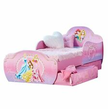 Princesse Disney MDF Lit Enfant avec rangement Neuf Chambre à coucher