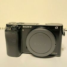 Sony Alpha A6000 24.3MP Digital Camera(Body Only), PARTS ONLY **see description!