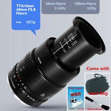 TTartisans 40mm F/2.8 Large Aperture Close Up Macro Lens For Fujifilm Fuji X XF