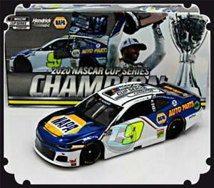 """2020 CHASE ELLIOTT #9 NAPA NASCAR CUP SERIES CHAMPION COLOR CHROME """"912 MADE"""""""