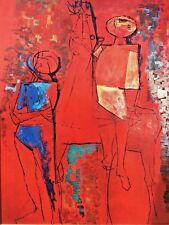 Marni Onlookers 1953 art print mailer card Minerva Reproduktioner vintage 1968
