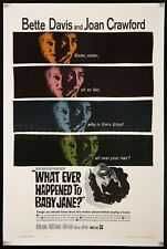 WHATEVER HAPPENED TO BABY JANE 1sh L/B Bette Davis Joan Crawford FilmArtGallery