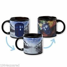 Doctor Who Disappearing Tardis Mug Heat Changing 12 oz Dr New Mint MIB